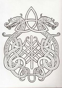 Tattoo Dragon Viking Norse Symbols Ideas For 2019 Odin Symbol, Viking Tattoo Symbol, Norse Tattoo, Celtic Tattoos, Viking Tattoos, Wiccan Tattoos, Inca Tattoo, Indian Tattoos, Viking Dragon Tattoo
