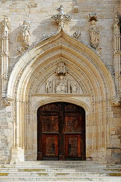 Church Door, Burgos, Spain