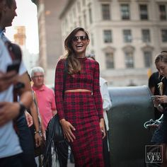 How to stand out in a crowd - Part 2: LAUGH FROM THE HEART  @streetvues | streetvue.co  #newyork #streetstyle #streetphotography #nyfw #style #fashion #primeshot