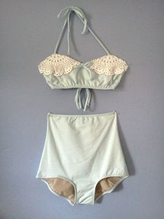 yes. High waisted bikini