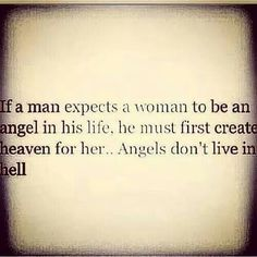 Angels dont live in hell