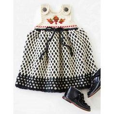 Free Intermediate Baby's Jumper Crochet Pattern
