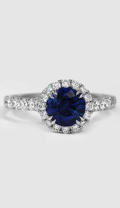 Sapphire Sienna Ring Platinum