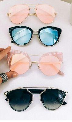 I want them all! #showpo #sunnies