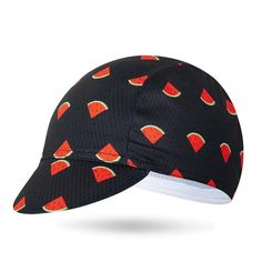 Cycling Cap Watermelon🧢myalleshop Mtb, Next Brand, Stylish Caps, Bicycle Clothing, Bike Wear, Novelty Socks, Custom Hats, Mens Caps, Men And Women