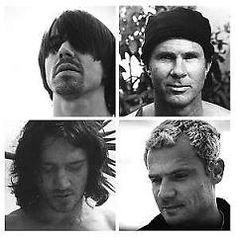 Red Hot Chili Peppers - Anthony Kiedis, Chad Smith, John Frusciante, Flea