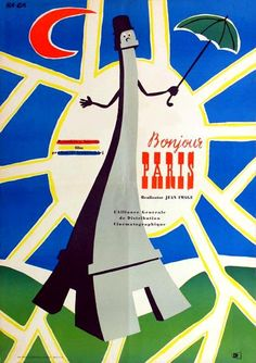Hanna Goslawska, Bonjour Paris, 1957