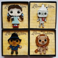 Don't miss your chance to snag our VERY LIMITED EDITION Wizard of Oz brooches! If a style is sold out now, there will only be ONE MORE RESTOCK in late May Visit our website today! www.lillianmadison.com/new • • Also please share your pictures wearing these, I would love to see! Don't forget to use our tag! 😉❤ #lillianmadison #lillianmadisondesigns #noveltybrooch #brooch #brooches #broochoftheday #broochaddict #ootdsocialclub #vintageinspired #wizardofoz #dorothygale #cowardlylion #tinman…