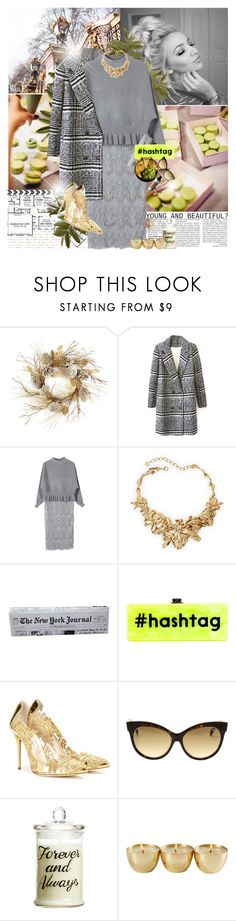 """#BEAUTIFULHALO 3"" by nensy ❤ liked on Polyvore featuring Thos. Baker, Oscar de la Renta, Kate Spade, Edie Parker, Streamline NYC, Emilio Pucci, H&M, women's clothing, women's fashion and women"