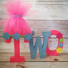 Trolls Inspired Birthday Free Standing Letters//Poppy// Pink and Blue Birthday Birthday letters//Photo Prop by on Etsy Trolls Birthday Party, Second Birthday Ideas, Troll Party, Third Birthday, 4th Birthday Parties, Birthday Fun, Birthday Letters, Blue Birthday, Bday Girl