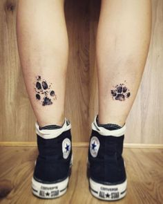 Dog Paw Prints Make The Most Pawesome Tattoos Ever