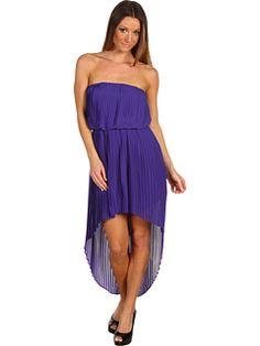 BCBGeneration Pleat High Low Dress  $138