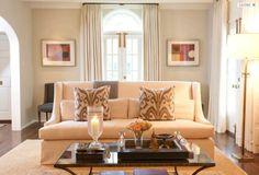 Elegant formal living room design