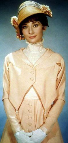 Audrey Hepburn in 'My Fair Lady' (1964). Costume Designer: Cecil Beaton