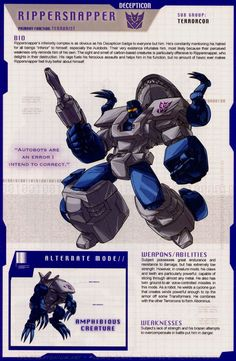 Image result for tf terrorcons bios