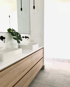 So this is our bathroom and we were initially going with one sink but putting in two makes sense - weve been told several times by… #Luxurybathroom