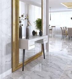 Home Room Design, Interior Design Living Room, Living Room Designs, Living Room Decor, Hallway Decorating, Interior Decorating, Entrance Hall Decor, Flur Design, Minimalist Dining Room