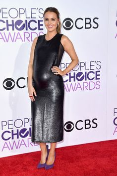 The Best Red Carpet Looks from the 2017 People's Choice Awards  Camilla Luddington looked beautiful!