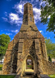 Greyfriars Tower, Kings Lynn, Norfolk, England