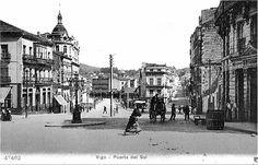 Vigo, tu ciudad. Puerta del Sol en 1895.