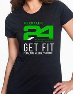 Women's Herbalife Performance shirt.