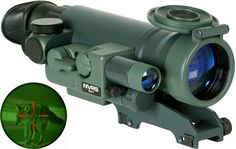 Yukon NVRS Titanium 1.5x42 Mini Varmint Hunter Rifle Scope YK26011