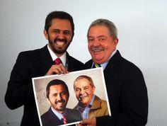 Elmano esteve com o ex-presidente Lula, nesta segunda (30). Lula garantiu apoio à candidatura e disse que viria a Fortaleza para ajudar na campanha. #Elmano13doPT