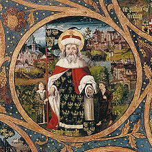 Saint Leopold patron of large families, death of children and stepparents.