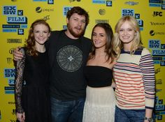 #AshleyBell #AddisonTimlin #BryanPoyser and #Sara Paxton at #SXSW promoting their film Love & Air Sex.  Watch it here: http://www.loveandairsex.com/