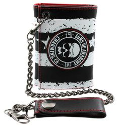 Just arrived! Sons of Anarchy Stripes Wallet | Available at the BikerOrNot Store. Order online here: http://store.bikerornot.com/sons-of-anarchy-stripes-tri-fold-wallet/