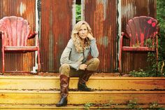 "Occupation: Singer/Songwriter/Musician Hometown: Kennett, Missouri What's on her plate: The recent release of her first country album Feels Like Home, which includes the hit single ""Easy"" When I st..."