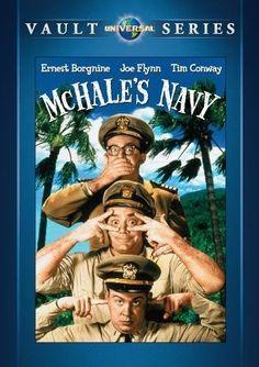 McHale's Navy by Universal Studios Mchale's Navy, George Kennedy, Ernest Borgnine, Naval Aviator, John Wright, Classic Movies, Universal Studios, Movies To Watch, Movie Tv