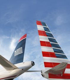 MERGE - American & US Airways are coming together to create the new American Airlines. The combined network will offer more than 6,700 daily flights to 336 destinations in 56 countries around the world under the iconic American Airlines brand.