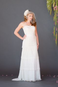 6bc41ed6edf Celia Grace. Pear Shaped DressesLace VeilsWedding Dress ...