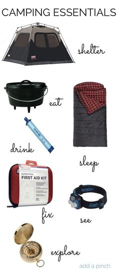 Camping Essentials - Different Camping Equipment for Different Seasons *** You can find more details by visiting the image link.