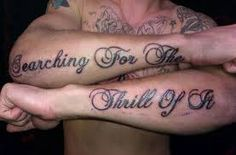 amazing tipography tatoo arm - Pesquisa Google
