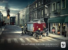 #WWF - You Can't Afford to be Slow in an Emergency.