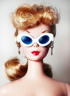 Barbie Party, Barbie I, Vintage Barbie Dolls, Barbie World, Barbie And Ken, Blonde Ponytail, Barbie Collection, Barbie Friends, Stickers
