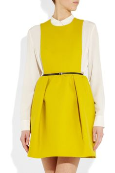 Carven  Cotton-twill dress