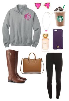 """""""so excited for fall!!:) {Meg}"""" by southernpreppygirls ❤ liked on Polyvore featuring Mode, Splendid, Kendra Scott und Tory Burch"""