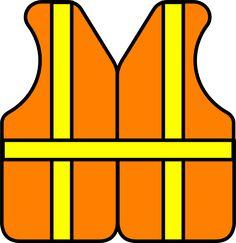 Construction Vest clip art - vector clip art online, royalty free ... - ClipArt Best - ClipArt Best