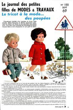 ❤ Page originale TRICOT Michel Marie Françoise MODES ET TRAVAUX Septembre 1969 ❤ : 1,99 EUR