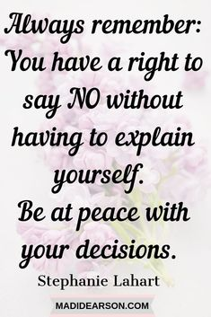 """It's ok to say no when we need to. If you have the people pleasing """"gene"""" than learning to say no without guilt is something you need to do for your well being. Here are a few tips to help. #saynowithoutguilt #selfcare #personalgrowth"""