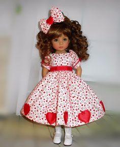 Handmade dress & hair