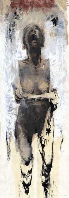 painting, by jason shawn alexander, from the series mourners #art #painting #jasonshawnalexander