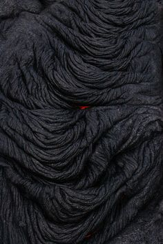 Dot of red under cooler black lava Patterns In Nature, Textures Patterns, Land Art, Demon Eyes, In Natura, Shades Of Black, Color Negra, Natural World, My Favorite Color