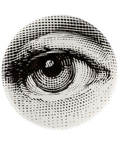 All - Fornasetti 'Occhio' Stool - L'Eclaireur Shop Ojo Tattoo, B&w Wallpaper, Arte Popular, Clip Art, Eye Art, Art Plastique, Graphic Design Illustration, Art Inspo, Collage Art