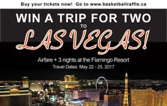Support the Basketball Manitoba Raffle and Win a Trip for 2 to Vegas   REGISTER FOR THE FUNDRAISER NOW! Basketball Manitoba is pleased to announce a new fundraising initiative that any school/club team OR individual can take advantage of to help raise funds towards their basketball participation. The Basketball Manitoba Vegas Raffle will also support the Basketball for Life Fund that has been created to help remove financial barriers for children wanting to pursue their basketball ambitions…