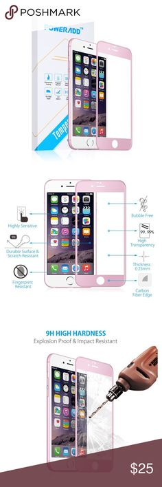 Electronics - iPhone 6/6s Screen Protector Rose gold color.  ✅Great deal!✅ Save with bundle discounts I also offer customized bundles  Interested? Leave a comment below  ~~~~~~~~~~~~~~~~~~~~~~~~~~~~~~ apple Accessories Phone Cases