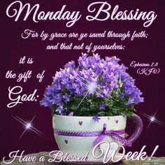 I pray that you have a safe and blessed day! Monday Morning Blessing, Happy Monday Morning, Good Morning Prayer, Good Morning Good Night, Monday Blessings, Good Night Blessings, Morning Blessings, Morning Prayers, Monday Greetings